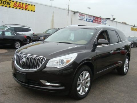 Mocha Bronze Metallic Buick Enclave Premium AWD.  Click to enlarge.