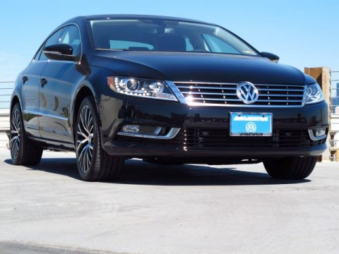 Deep Black Metallic Volkswagen CC V6 Executive 4Motion.  Click to enlarge.
