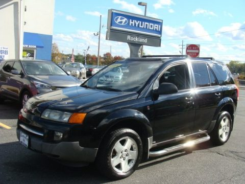 Black Onyx Saturn VUE V6.  Click to enlarge.