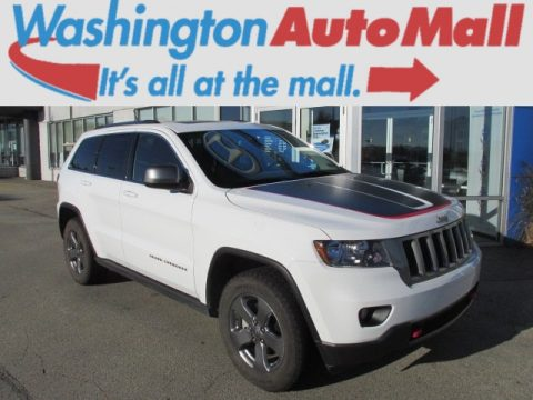 used 2013 jeep grand cherokee trailhawk 4x4 for sale stock h390595 dealer. Black Bedroom Furniture Sets. Home Design Ideas