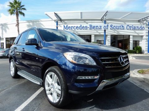 New 2014 mercedes benz ml 350 4matic for sale stock for Mercedes benz dealer in orlando florida