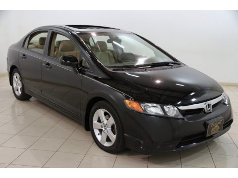 used 2006 honda civic ex sedan for sale stock m18025a. Black Bedroom Furniture Sets. Home Design Ideas