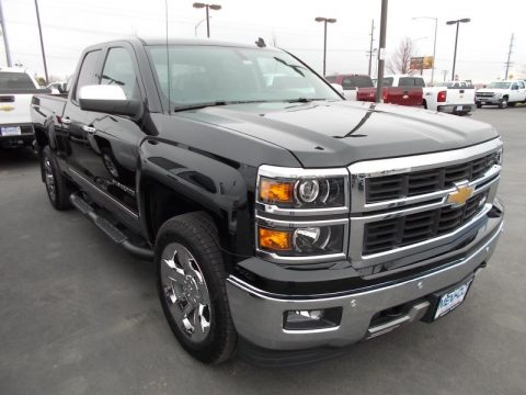 new 2014 chevrolet silverado 1500 ltz double cab 4x4 for sale stock 48608. Black Bedroom Furniture Sets. Home Design Ideas