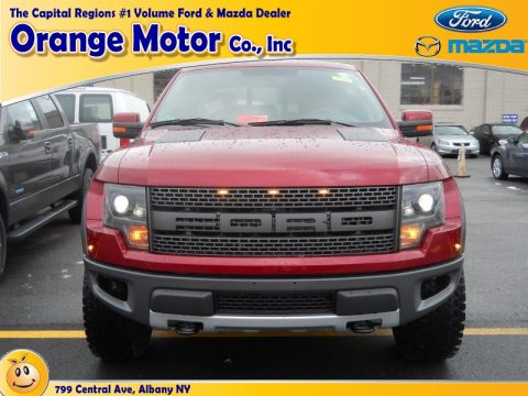 New 2014 ford f150 svt raptor supercrew 4x4 for sale for Orange motors albany new york