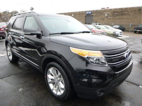 Tuxedo Black Ford Explorer Limited 4WD.  Click to enlarge.