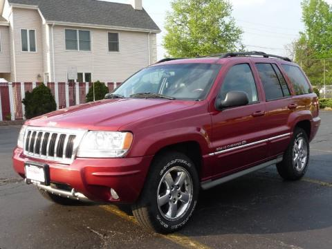 Used 2004 Jeep Grand Cherokee Overland 4x4 for Sale - Stock #165391