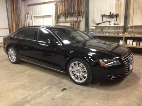 used 2014 audi a8 l 4 0t quattro for sale stock sg8042ml69c dealer car ad. Black Bedroom Furniture Sets. Home Design Ideas