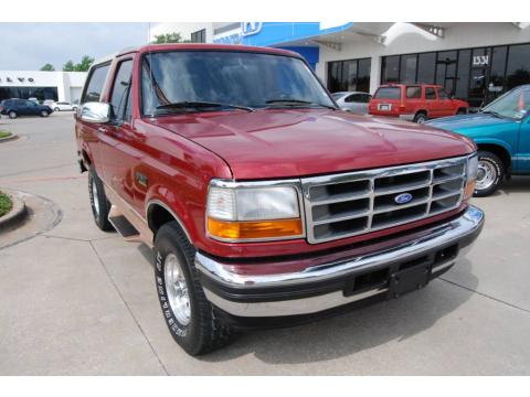 Used 1995 ford bronco eddie bauer 4x4 for sale stock for Lute riley honda 1331 n central expy richardson tx 75080