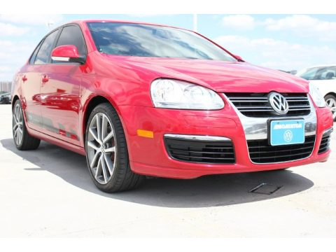 Salsa Red Volkswagen Jetta TDI Cup Street Edition.  Click to enlarge.