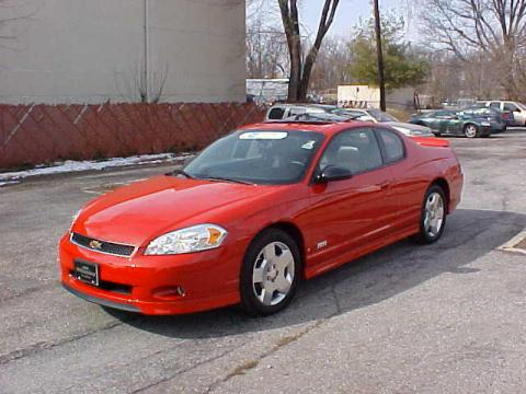 used 2006 chevrolet monte carlo ss for sale stock c8117a dealer car ad. Black Bedroom Furniture Sets. Home Design Ideas