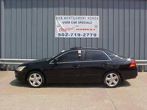 used 2006 honda accord ex l v6 sedan for sale stock h1758a dealer car ad. Black Bedroom Furniture Sets. Home Design Ideas
