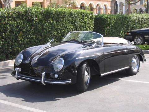 Porsche 356a Speedster For Sale. Porsche 356A - Black