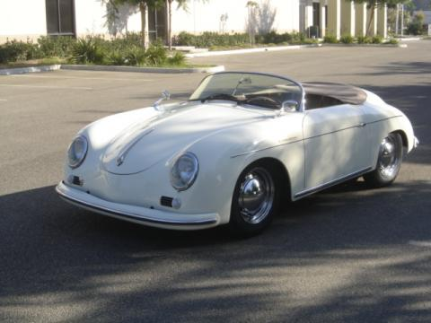 Porsche 356a Speedster For Sale. White 1956 Porsche 356