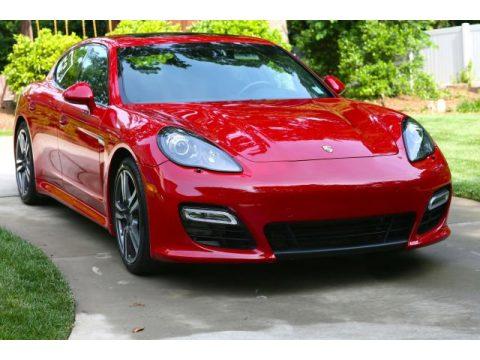 Carmine Red Uni Porsche Panamera GTS.  Click to enlarge.