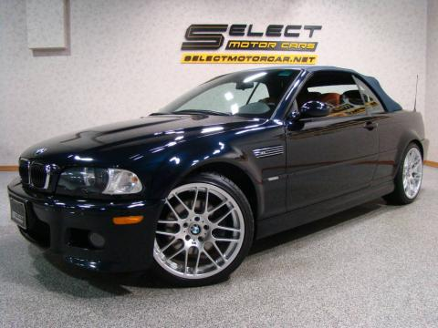 used 2006 bmw m3 convertible for sale stock 50169. Black Bedroom Furniture Sets. Home Design Ideas