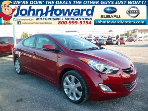 Used 2012 hyundai elantra limited for sale stock for Mileground motors in morgantown wv