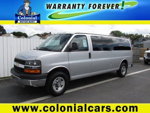 Used 2010 Chevrolet Express Lt 3500 Extended Passenger Van