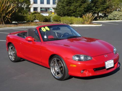 used 2004 mazda mx 5 miata mazdaspeed roadster for sale stock 9293a dealer. Black Bedroom Furniture Sets. Home Design Ideas