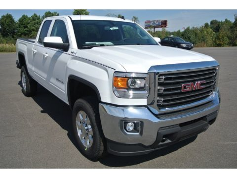GMC Sierra 2500HD SLE Double Cab 4x4