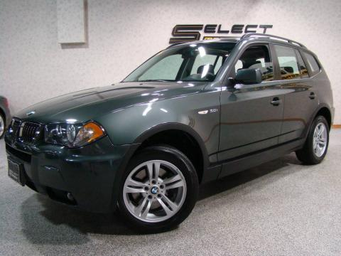Bmw X3 2006 Interior. Green Metallic 2006 BMW X3