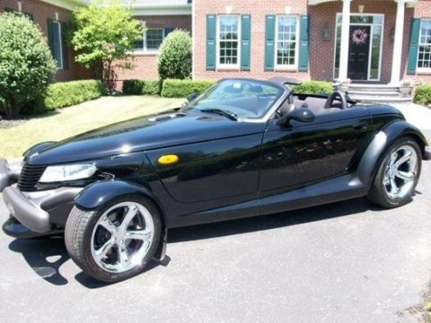 Prowler Black Plymouth Prowler Roadster.  Click to enlarge.